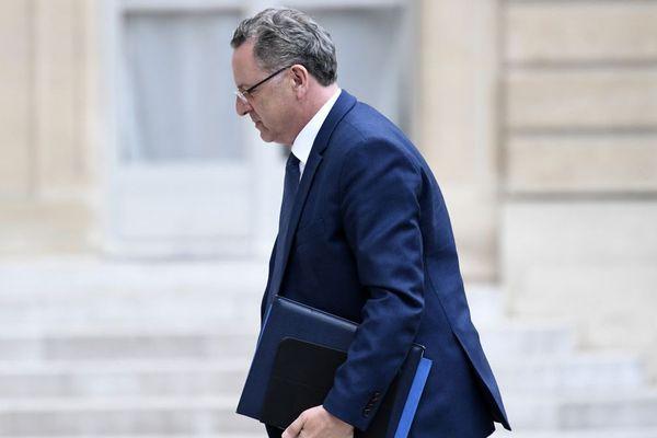 Richard Ferrand, ministre de la Cohésion des territoires au Palais de l'Elysée - 24/05/2017 - AFP