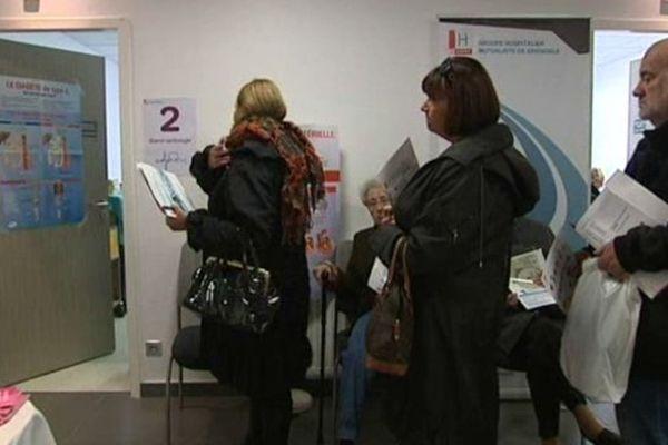 Les consultations organisées au GHM de Grenoble