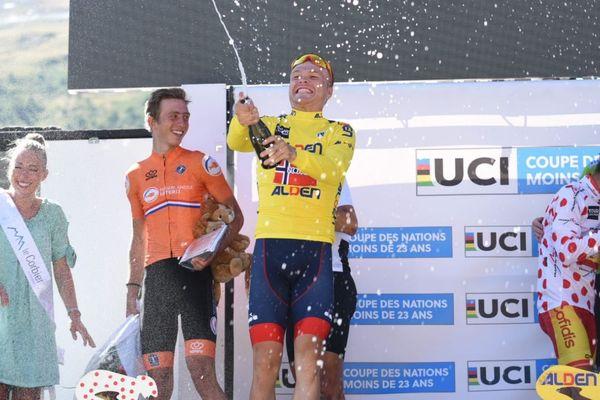 Le Norvégien s'est imposé en Savoie pour remporter le Tour de l'Avenir.