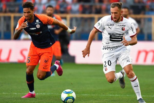 Montpellier s'est incliné face à Rennes, à la Mosson, samedi 10 août.