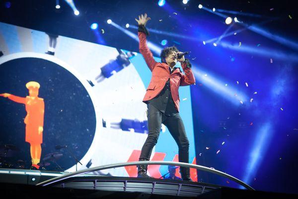 Nicolas Sirkis, le chanteur d'Indochine