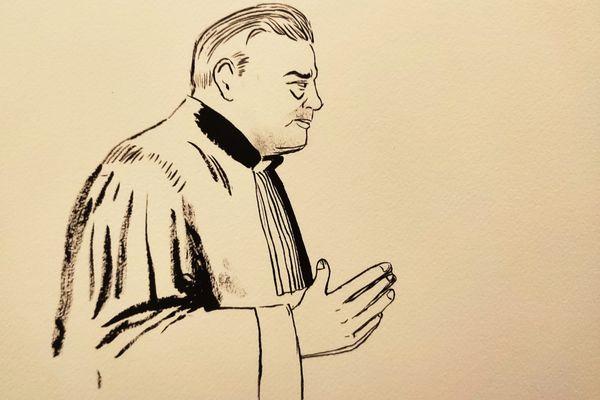 Montpellier - Me Franck Berton, avocat de Rémi Chesne - janvier 2021.