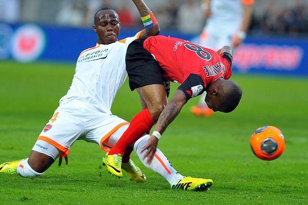 Valenciennes qui a trébuché, ici contre Guingamp (1-0) lors de 35e journée de Ligue 1, est de nouveau tombé hier contre Bordeaux (1-0) et se retrouve en Ligue 2