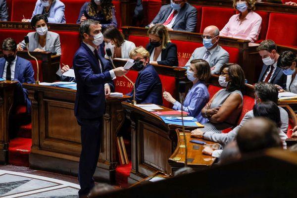 Olivier Véran à l'Assemblée Nationale