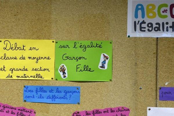 10 académies dont la Haute-Normandie expérimentent le dispositif de l'égalité.