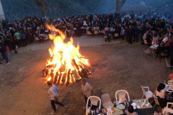 27/05/2017 - Morosaglia : célébration di i focchi Paoli