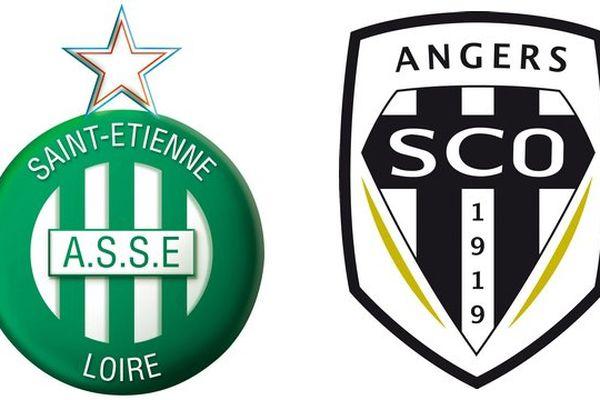 Angers SCO rencontrera l'AS Saint-Étienne à 14h au stade Geoffroy Guichard en 19ème journée du championnat de France de Ligue 1
