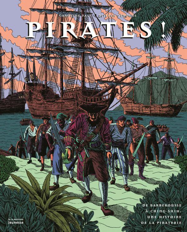 Pirates de Caroline Fait et Djilian Deroche