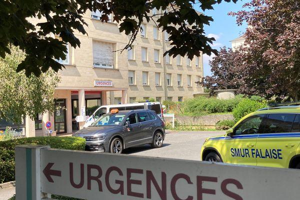 Les portes des urgences de l'hôpital de Falaise ont été closes pour une nuit