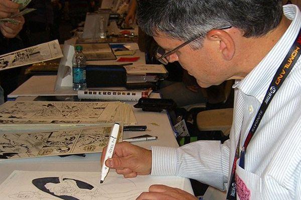 Rick Leonardi à la convention Comics de New York en Octobre 2011