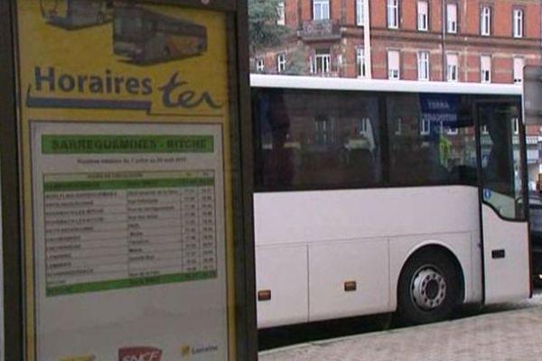D'avantage de bus entre Bitche et Sarreguemines : 2 allers-retours en plus chaque jour