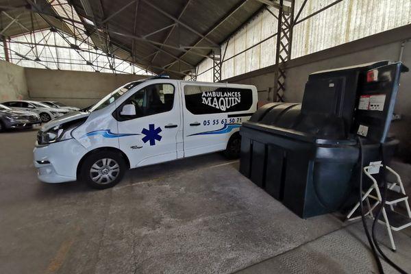 La hausse du carburant représente 900 euros de plus pour la société d'ambulance de La Souterraine.