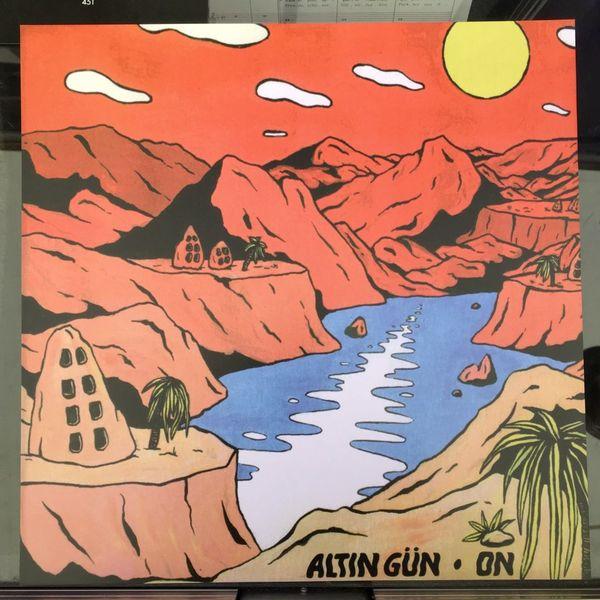 Pochette du disque de Altin Gun