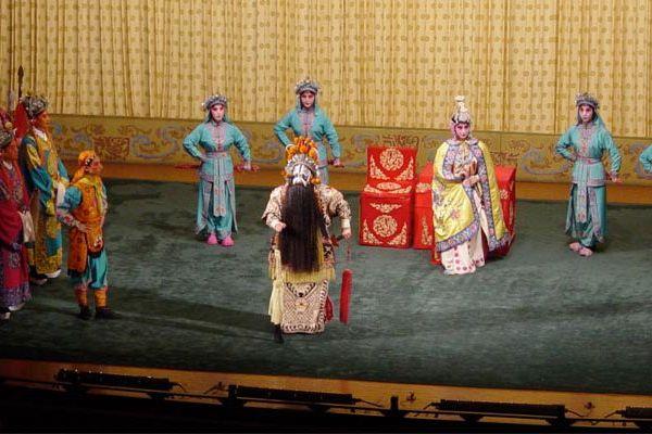 """""""Adieu ma concubine"""" est un opéra classique de l'art lyrique chinois."""