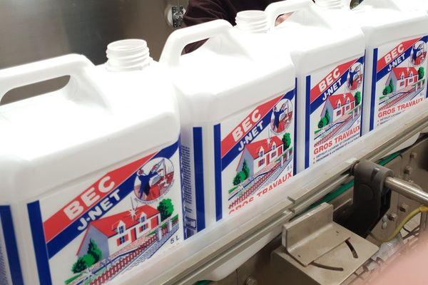 L'entreprise Pintaud est le seul fabricant d'eau de javel de Nouvelle-Aquitaine