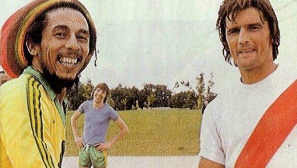 Bor Marley et Henri Michel à Nantes, le 2 juillet 1980