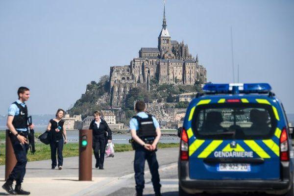 Le Mont-Saint-Michel évacué le 22 avril 2018
