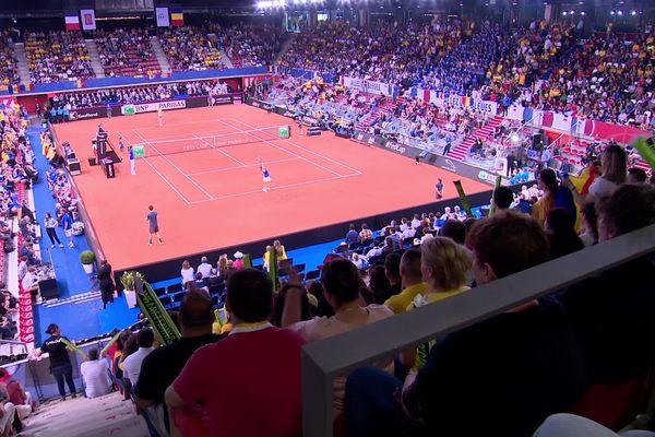 Rouen- Fed-Cup 2019 au Kindarena le 21 avril 2019