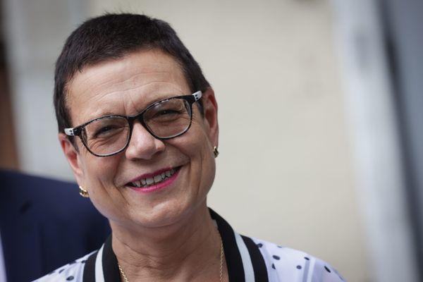 Christine Bouquin, à la tête de la majorité de la droite et du centre du conseil départemental du Doubs