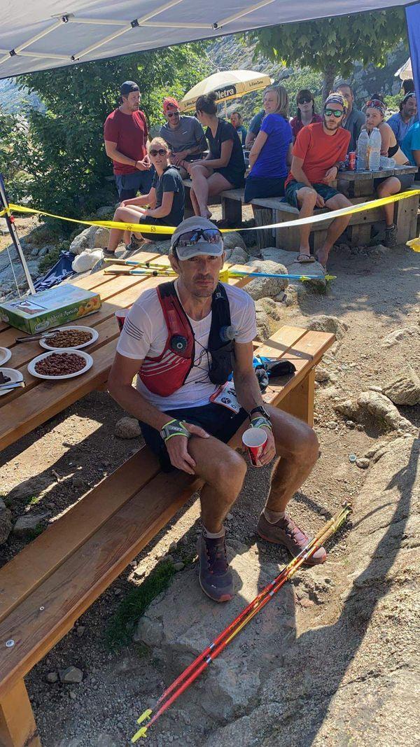 Jean-Baptiste Simonetti est actuellement le leader de l'ultra-trail