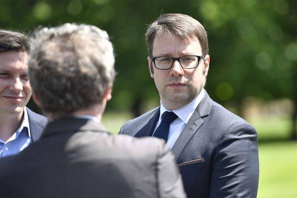 Loïg Chesnais Girard, le président de la région Bretagne