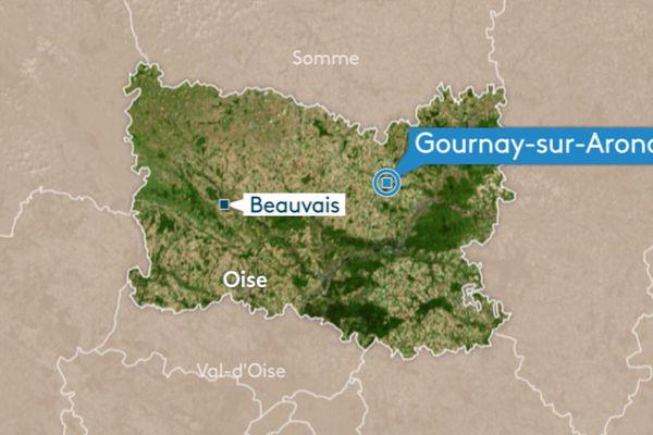 Situé à Gournay-sur-Aronde, le site de stockage de gaz de Storengy alimente toute la région Hauts-de-France.