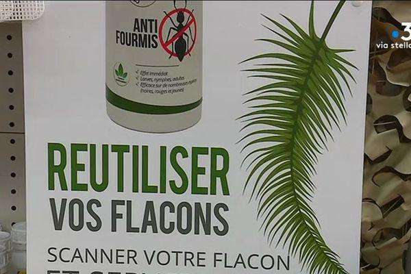 Reyclage et produit bio : le laboratoire LMC propose un insecticide naturel dont le pulvérisateur est aussi consigné
