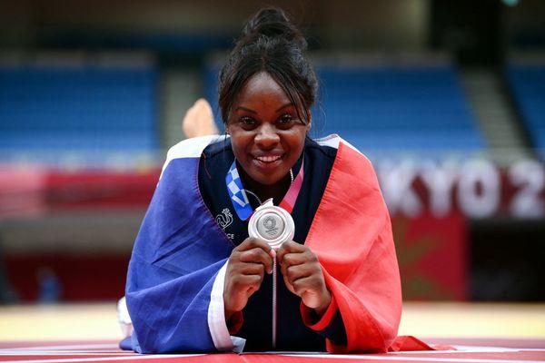 La judokate Madeleine Malonga a remporté la médaille d'argent des JO de Toyko dans la catégorie -78kg