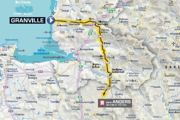 Etape 3 du Tour de France
