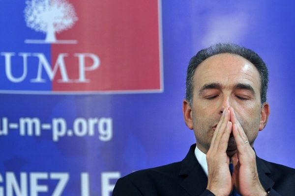 Jean-Francois Cope à Agen le 6 février 2013