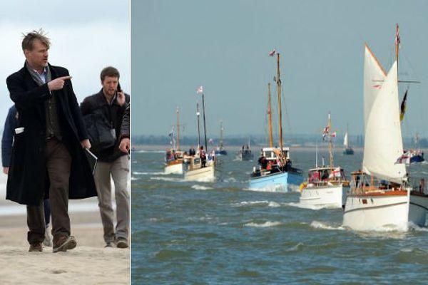 """Pour son film tourné à Dunkerque, Christopher Nolan a fait à d'authentiques """"Little Ships"""" de l'Opération Dynamo."""
