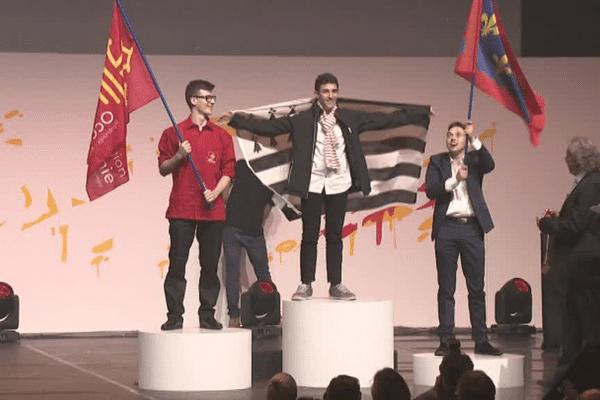 Olympiades des métiers 2018 à Caen : Alexandre Adjimi décroche la médaille d'or en dessin industriel (DAO)