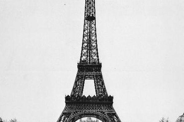 Fin mars 1889 : vue générale de l'ouvrage achevé
