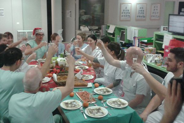 Noël avec l'équipe médicale du CMCO