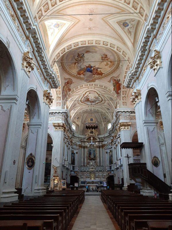 La cathédrale de Sospel date du XIIe siècle.