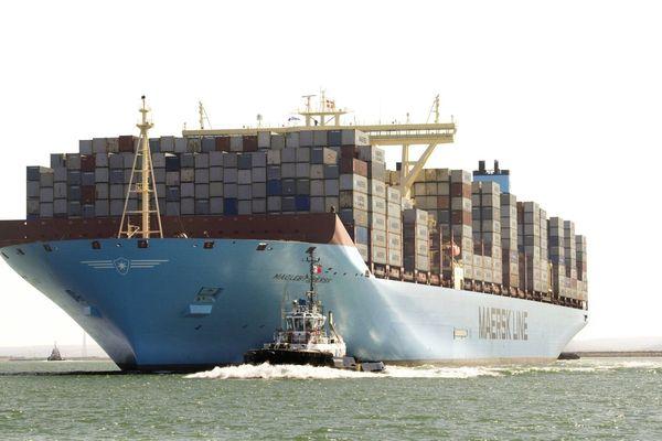 On estime à 15.000 le nombre de conteneurs qui tombent à l'eau chaque année