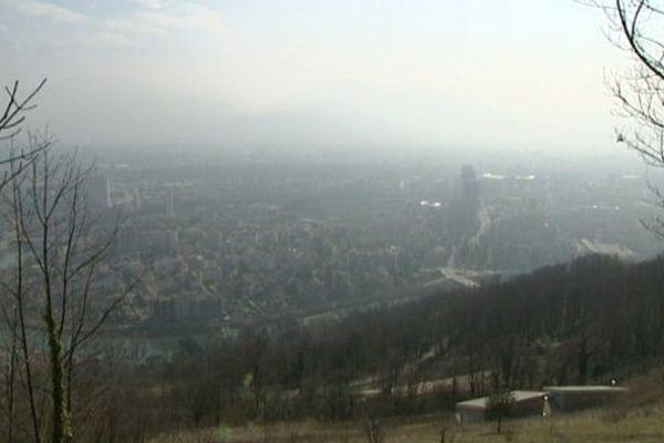 Grenoble vue d'en haut
