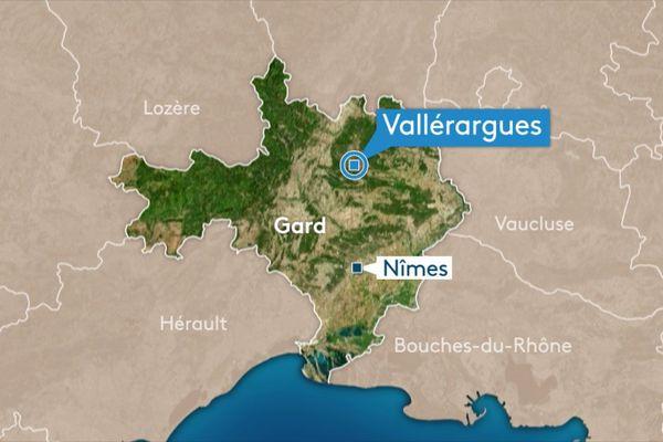 Vallérargues, dans le Gard