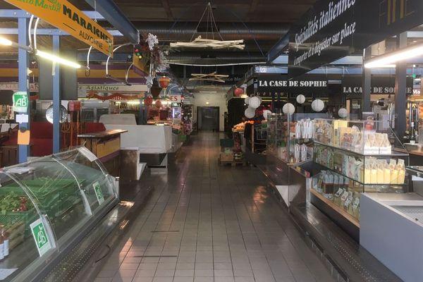 La marché des Beaux-Arts vide, ce mercredi matin à Besançon