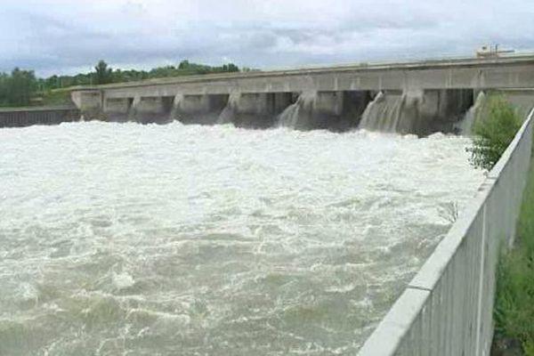 Le barrage hydro-électrique de Gambsheim