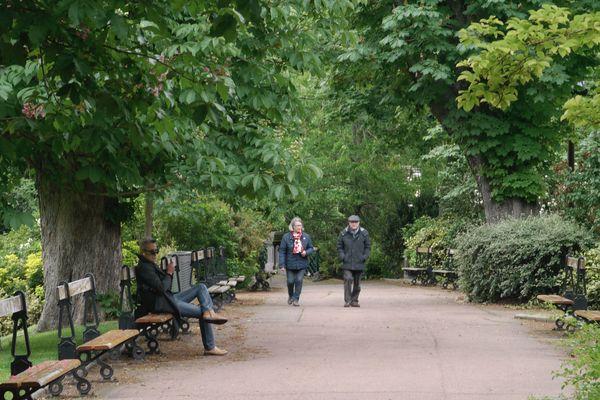 L'Auvergne, classée en zone verte, a pu rouvrir ses parcs et ses jardins, avec quelques conditions.