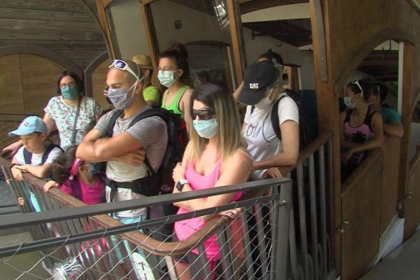 Masque obligatoire à bord de la cabine