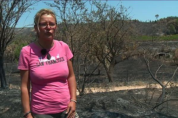 En moins d'une semaine plus de 800 hectares ont brûlés à Générac.