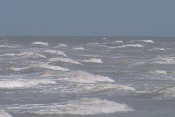 Grandes marées sur le littoral picard, 21 août 2020