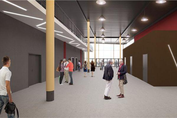 Le futur hall du nouveau Juraparc (DR)