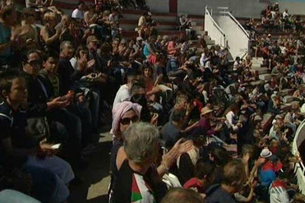 Le public dans les arènes de Palavas-les-flots pour la Féria de la mer