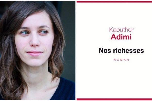 Kaouther Adimi, Prix Renaudot des Lycéens 2017 avec Nos Richesses
