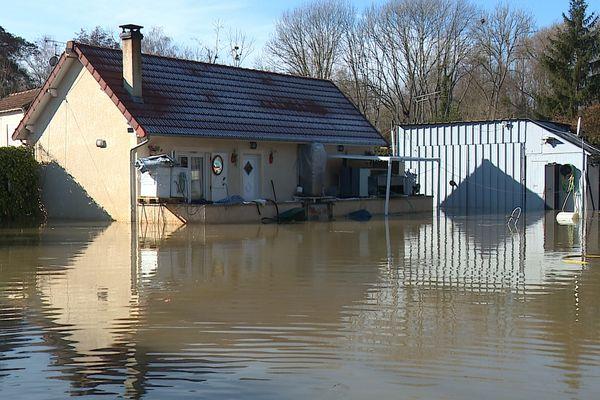 Esbly (Seine-et-Marne) a subi sept inondations en 10 ans.