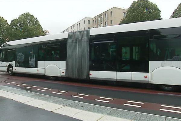Rouen : un bus TEOR