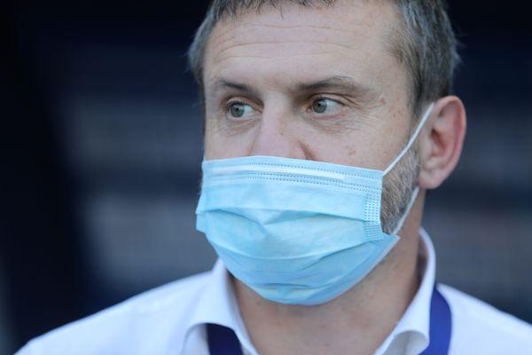 Samuel Laurent, directeur du FC Sochaux-Montbéliard.